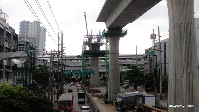 MRT Blue Line extension - 3 October 2013 - newpattaya.com