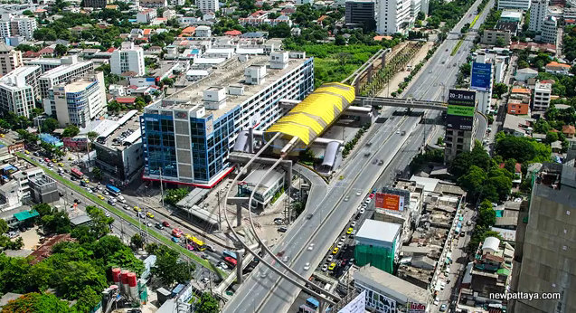 MRT Yellow Line Station 1- Lad Phrao