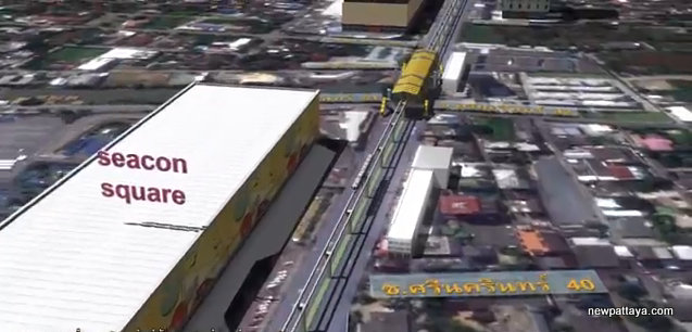 MRT Yellow Line Station 15 - Seacon Square
