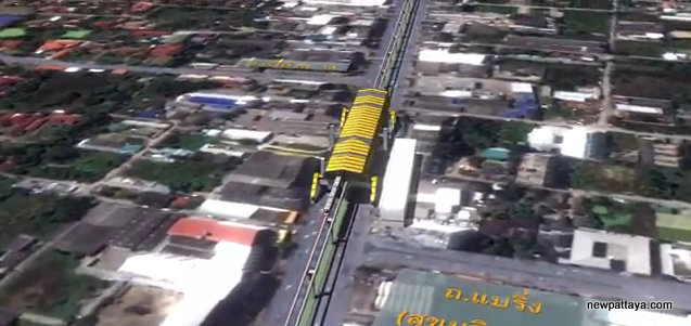 MRT Yellow Line Station 19 - Sukhumvit 107