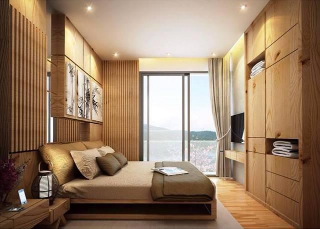 Zen City Condominium Bedroom by Porchland