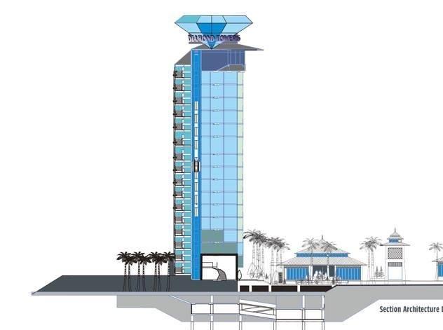 Diamond Towers Condominium Pattaya
