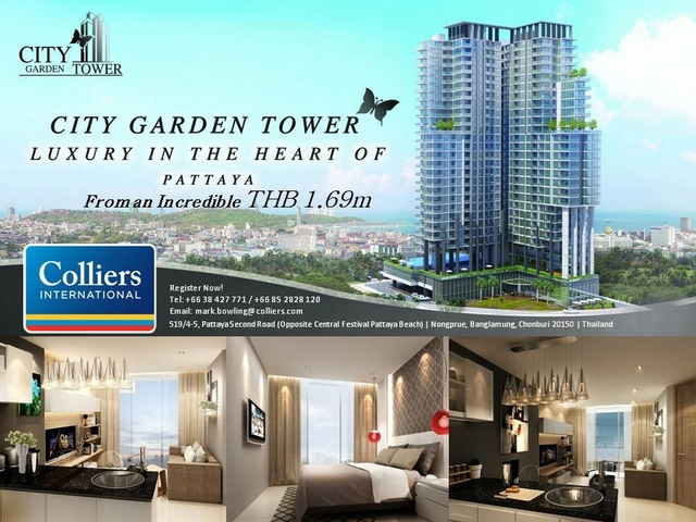 City Garden Tower South Pattaya
