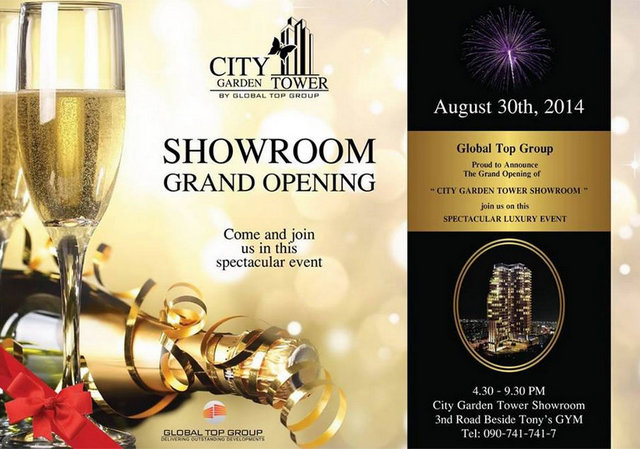 City Garden Tower South Pattaya Showroom Grand Opening