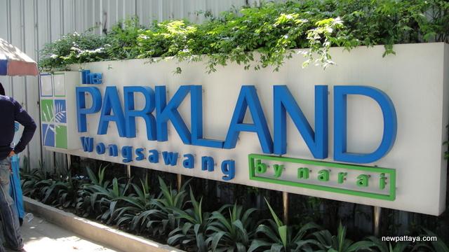 The Parkland Ratchada-Wongsawang - 9 February 2014 - newpattaya.com