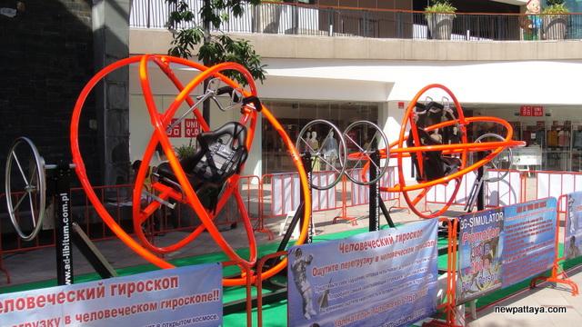 3-G Simulator - Ride Human Gyroscopes - 10 May 2014 - newpattaya.com