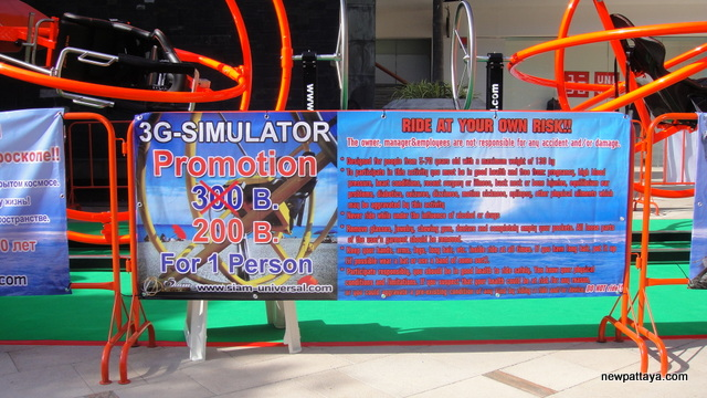 3-G Simulator - Ride Human Gyroscopes - 10 May 2014 - newpattaya.com