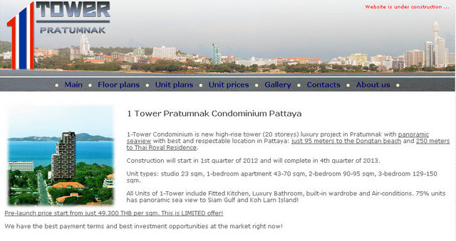 1 Tower Pratumnak