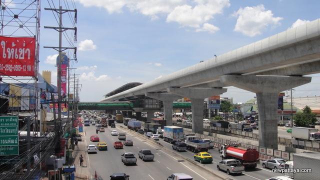 MRT Station Bangyai Nonthaburi - 5 July 2014 - newpattaya.com