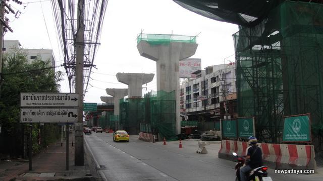Sukhumvit Line extension from Bearing to Samut Prakan - 13 July 2014