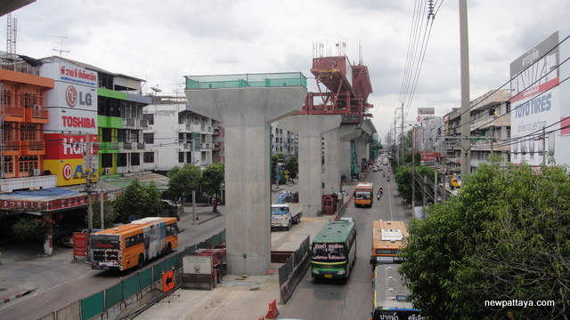 Sukhumvit Line extension from Bearing to Samut Prakan - 13 July 2014