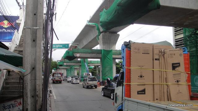 Sukhumvit Line extension from Bearing to Samut Prakan - 14 July 2014
