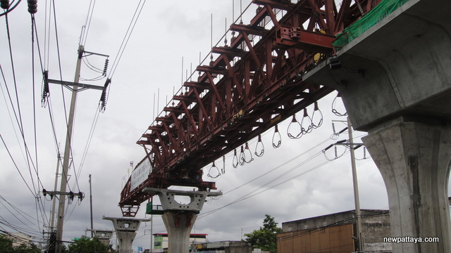 Sukhumvit Line extension from Bearing to Samut Prakan - 14 July 2014