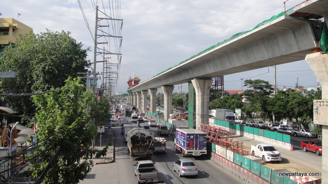 Sukhumvit Line extension from Bearing to Samut Prakan - 17 July 2014