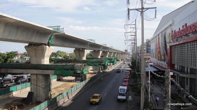 Sukhumvit Line extension from Bearing to Samut Prakan - 17 July 2014