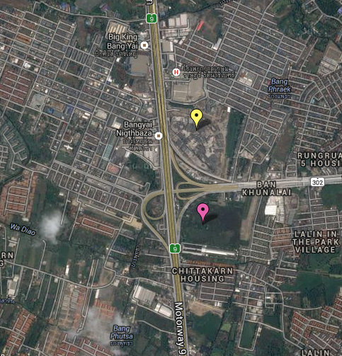 Mega Bangyai & IKEA map