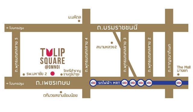 Map of Tulip Square @ Omnoi
