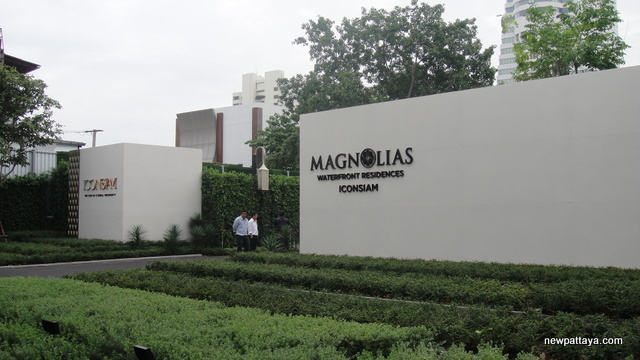 Magnolias Waterfront Residences ICONSIAM - 1 August 2014 - newpattaya.com