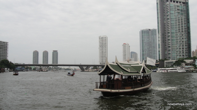 Chao Phraya River near ICONSIAM - 1 August 2014 - newpattaya.com