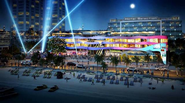 The Bay Shopping Mall Pattaya