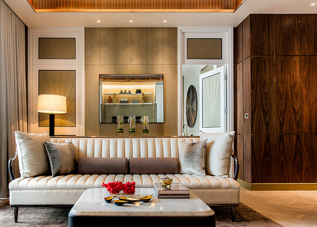 The Residences Mandarin Oriental Bangkok ICONSIAM Living room