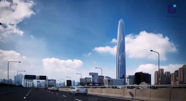 The Super Tower Grand Rama 9 Motorway