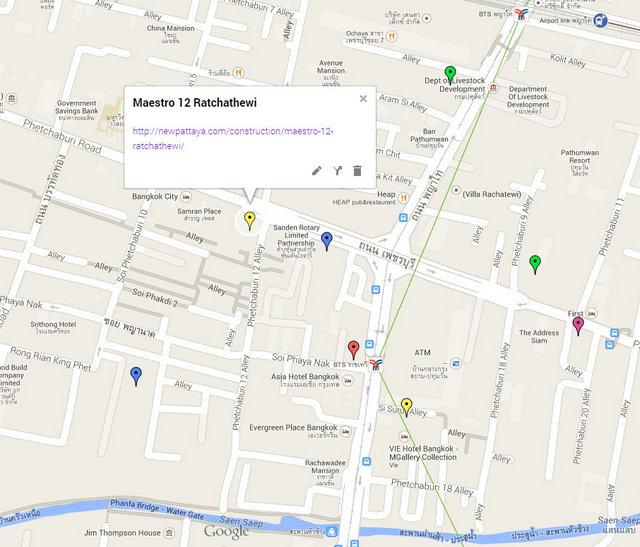 Maestro 12 Ratchathewi Google Maps