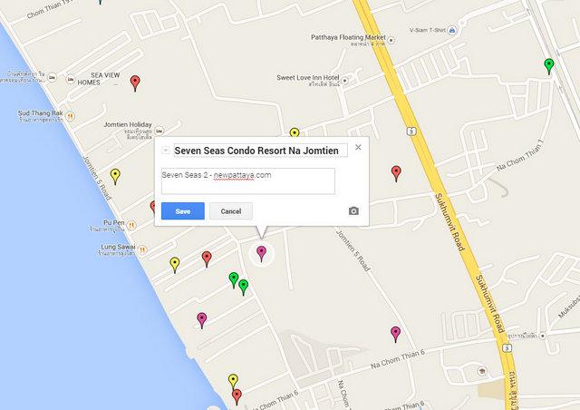 Seven Seas Na Jomtien Google Maps