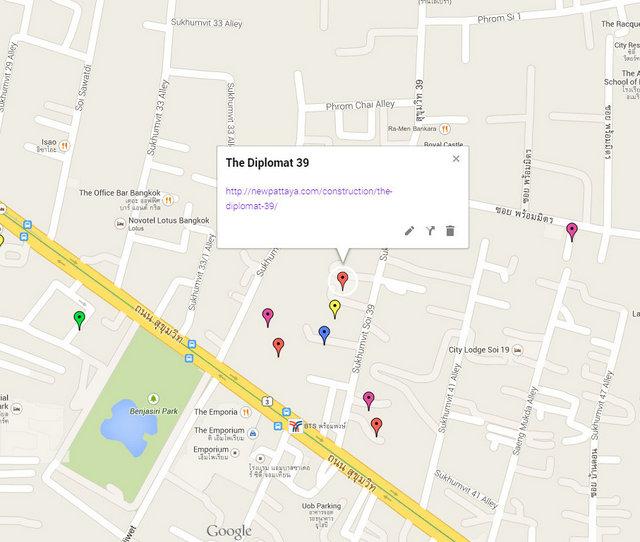 The Diplomat Sukhumvit 39 Google Maps