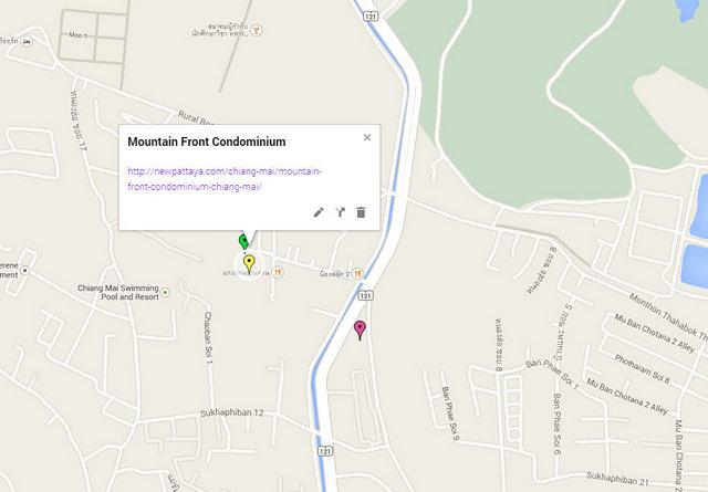 Mountain Front Condominium Google Maps