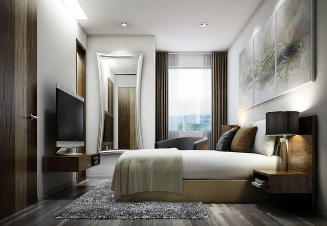 Mountain Pano Condominium Chiang Mai bedroom