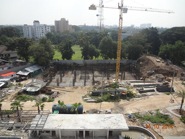 Punna Oasis 2 Construction 14 October 2014