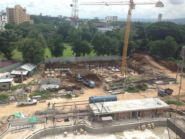 Punna Oasis 2 Construction 6 September 2014