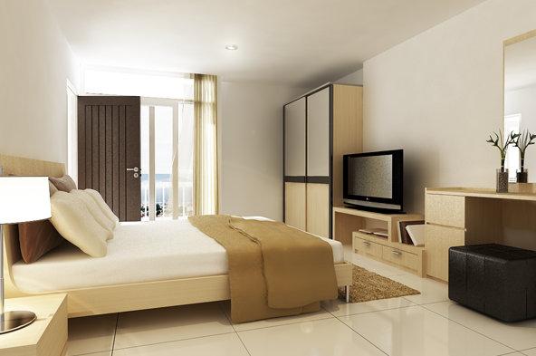 Punna Residence 4 @ CMU Bedroom