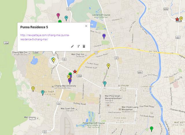 Punna Residence 5 Map