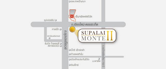 Supalai Monte 2 map