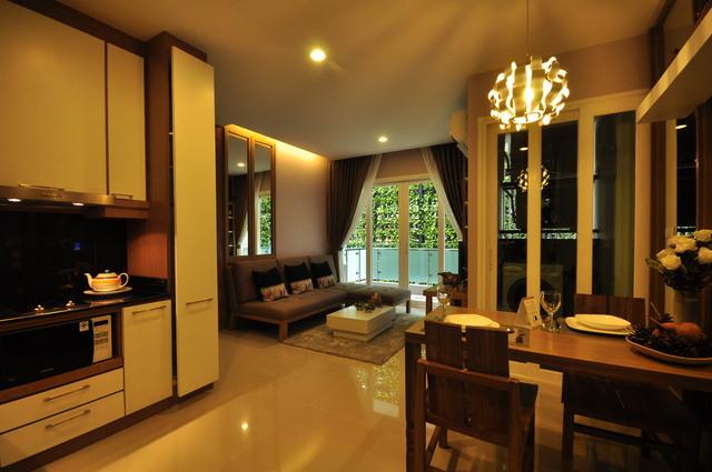 The Unique @ Ruamchok Living room