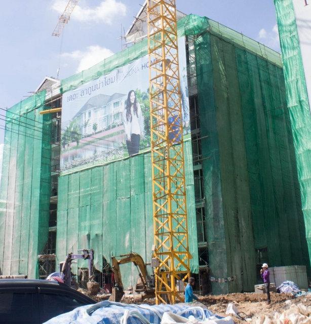 The Unique Condominium @ Koomuang Construction October 2014
