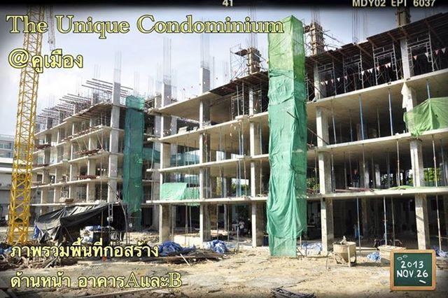 The Unique Condominium @ Koomuang Construction