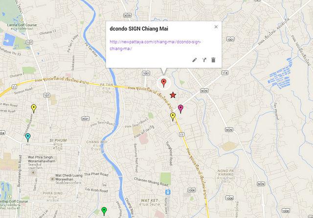 dcondo SIGN Chiang Mai Google Maps