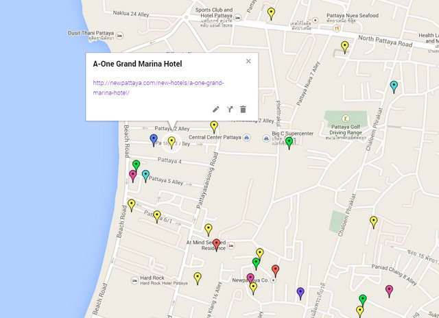 A-ONE Grand Marina Hotel Map