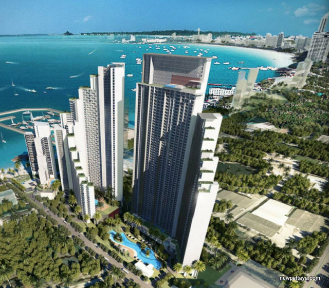 CP Magnolia Greenland Group Project Picture - newpattaya.com