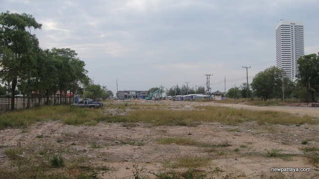 Inspection of area around Greenland-CP-Magnolia project in Pattaya