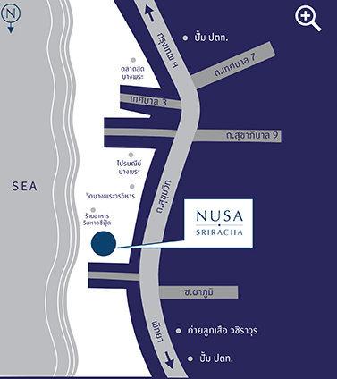 Nusa Sriracha Map