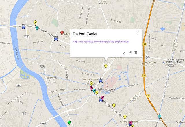 The Posh Twelve Map