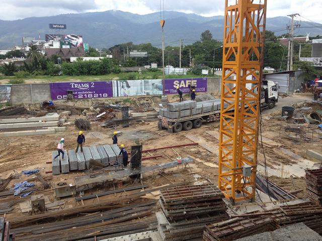 Trams Condo 2 Construction Progress