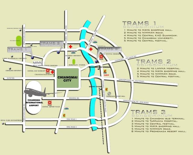 Trams Condo 3 Map