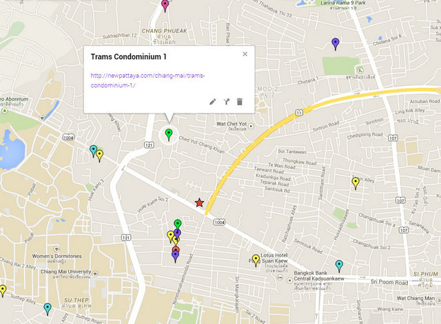 Trams Condominium 1 Map