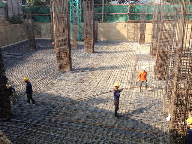 Trams Condominium 3 Construction