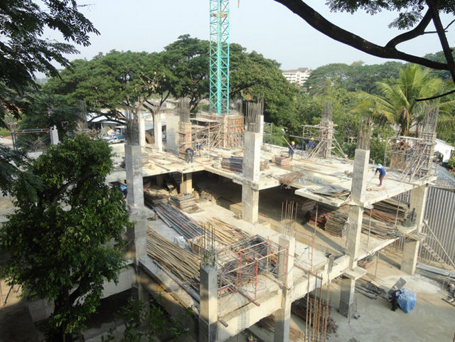 Trams Condominium 3 Construction